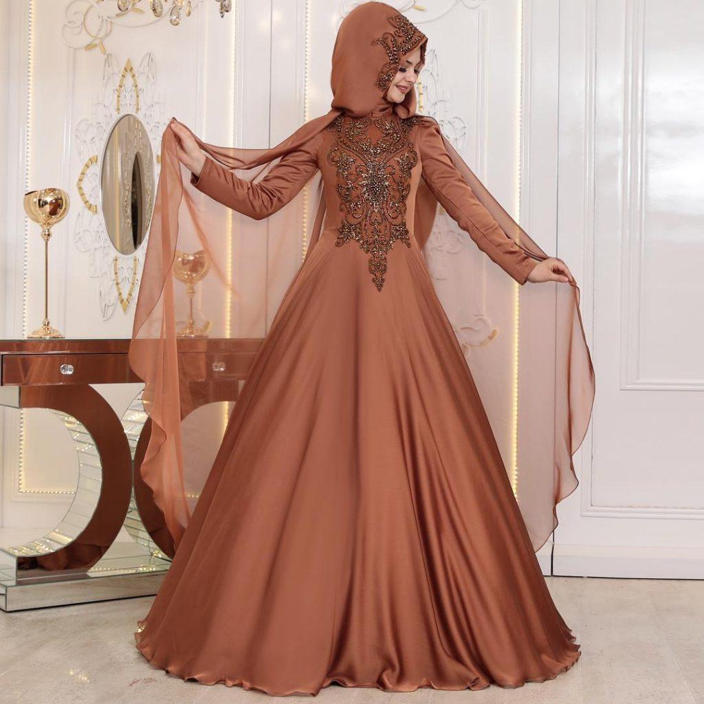 2018 En Yeni Pinar Sems Abiye Elbise Modelleri 11 1024x1024 - 2018 Tesettürlü Söz Abiye Elbise Modelleri