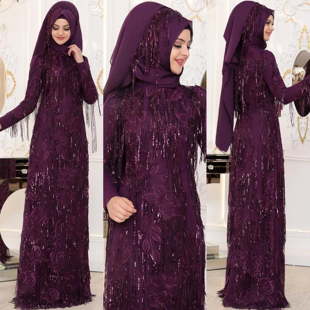 2018 En Yeni Pinar Sems Abiye Elbise Modelleri 13 1024x1024 - Tesettür Elbise