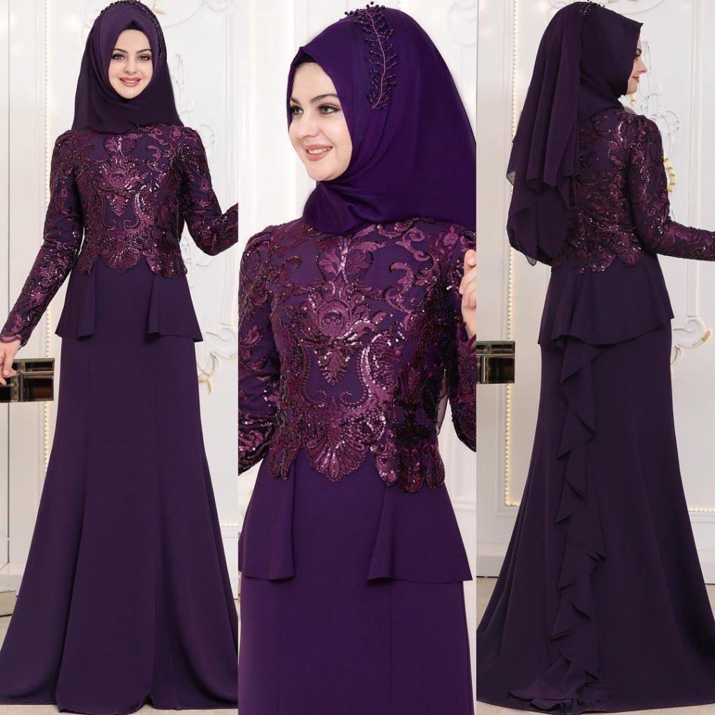2018 En Yeni Pinar Sems Abiye Elbise Modelleri 17 1024x1024 - Tesettür Elbise