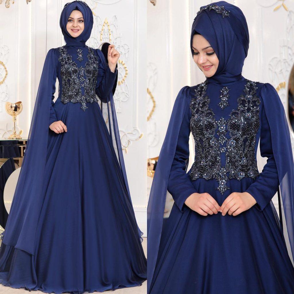 2018 En Yeni Pinar Sems Abiye Elbise Modelleri 9 1024x1024 - 2018 Tesettürlü Söz Abiye Elbise Modelleri