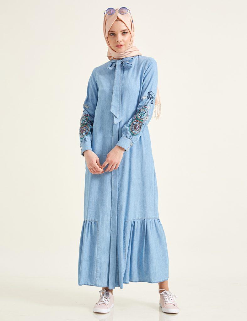 2018 Kayra Tesettur Abiye Elbise Modelleri 3
