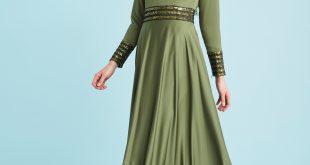 2018 Kayra Tesettur Abiye Elbise Modelleri 4