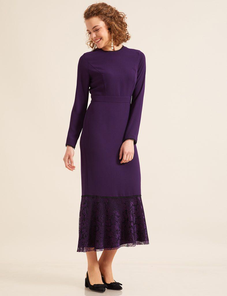 2018 Kayra Tesettur Abiye Elbise Modelleri