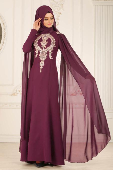 2018 Koton Tesettur Abiye Elbise Modelleri 1