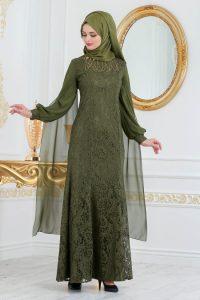 2018 Koton Tesettur Abiye Elbise Modelleri 12