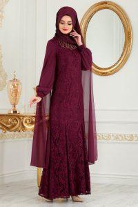 2018 Koton Tesettur Abiye Elbise Modelleri 13