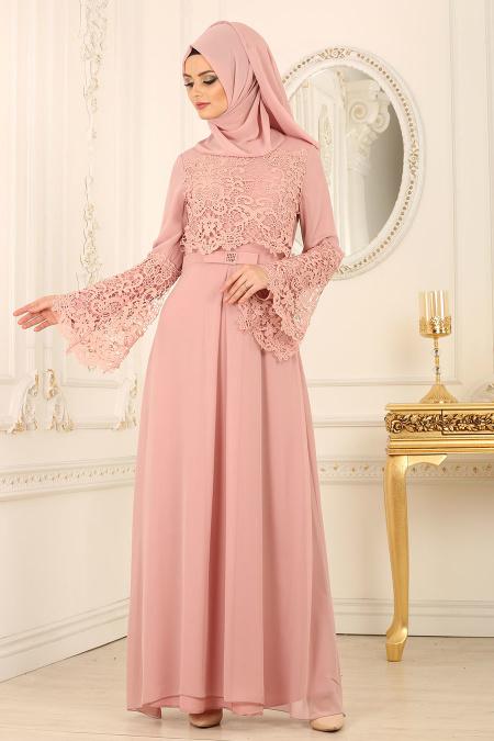 2018 Koton Tesettur Abiye Elbise Modelleri 2