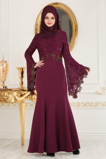 2018 Koton Tesettur Abiye Elbise Modelleri 3