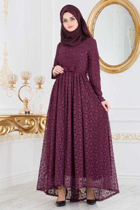 2018 Koton Tesettur Abiye Elbise Modelleri 4