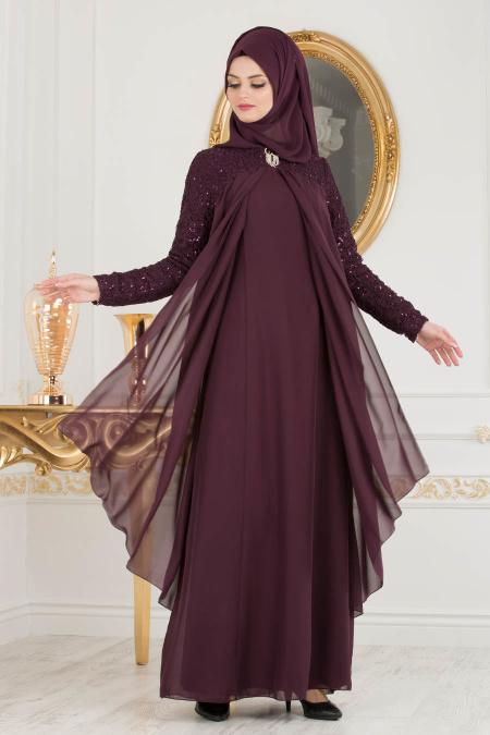 2018 Koton Tesettur Abiye Elbise Modelleri 5