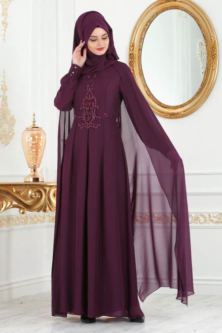 2018 Koton Tesettur Abiye Elbise Modelleri 9
