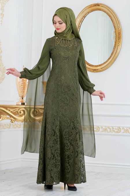 2018 Soz Abiye Elbise Modelleri 1 - Tesettür Elbise