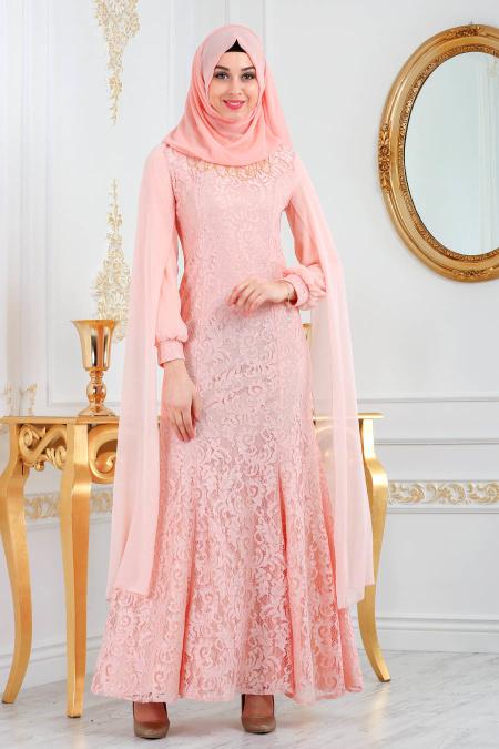 2018 Soz Abiye Elbise Modelleri 3 - Tesettür Elbise
