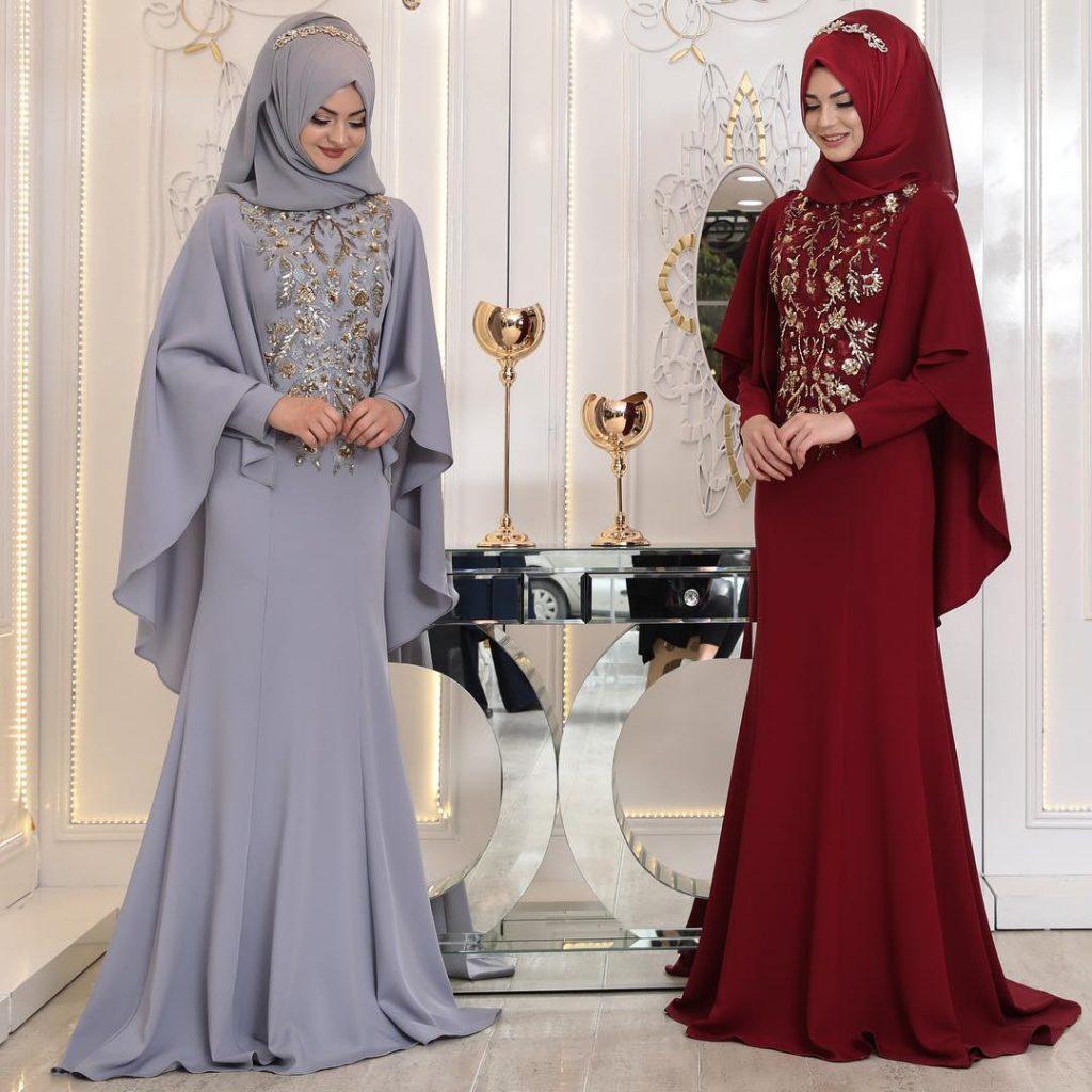 En Begenilen Tesettur Abiye Elbise