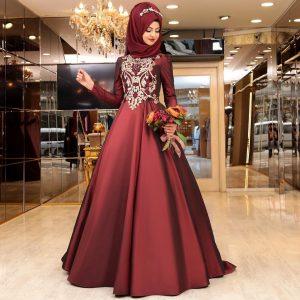 En Begenilen Tesettur Abiye Elbise 4