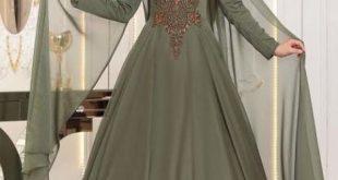 En Begenilen Tesettur Abiye Elbise pinar sems sura abiye haki e1524880982602