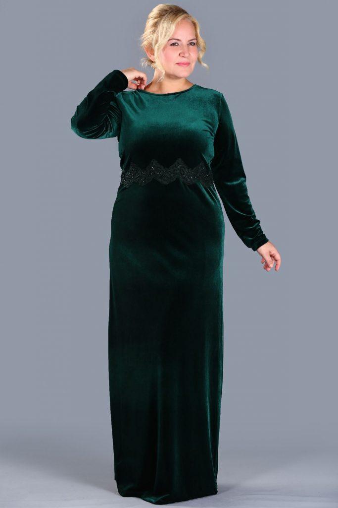 Patirti.com Buyuk Beden Abiye Elbise Modelleri 10 683x1024 - En Şık Patirti.com Tesettür Abiye Elbise Modelleri
