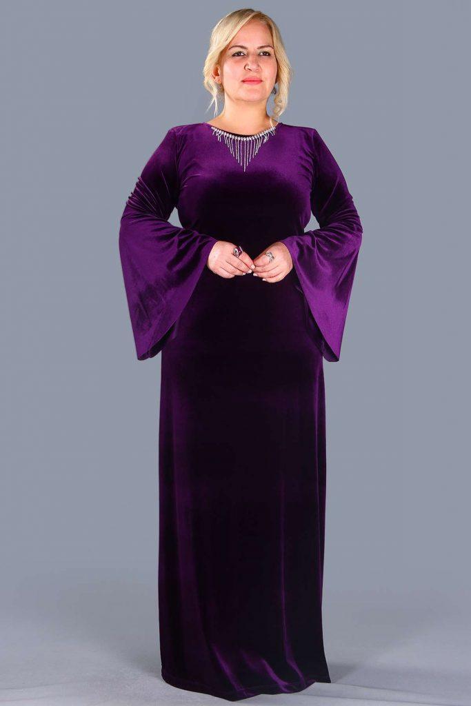 Patirti.com Buyuk Beden Abiye Elbise Modelleri 12 683x1024 - En Şık Patirti.com Tesettür Abiye Elbise Modelleri