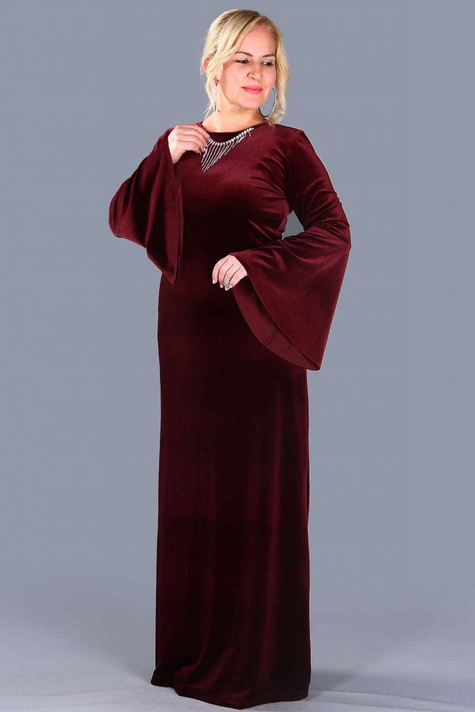 Patirti.com Buyuk Beden Abiye Elbise Modelleri 13