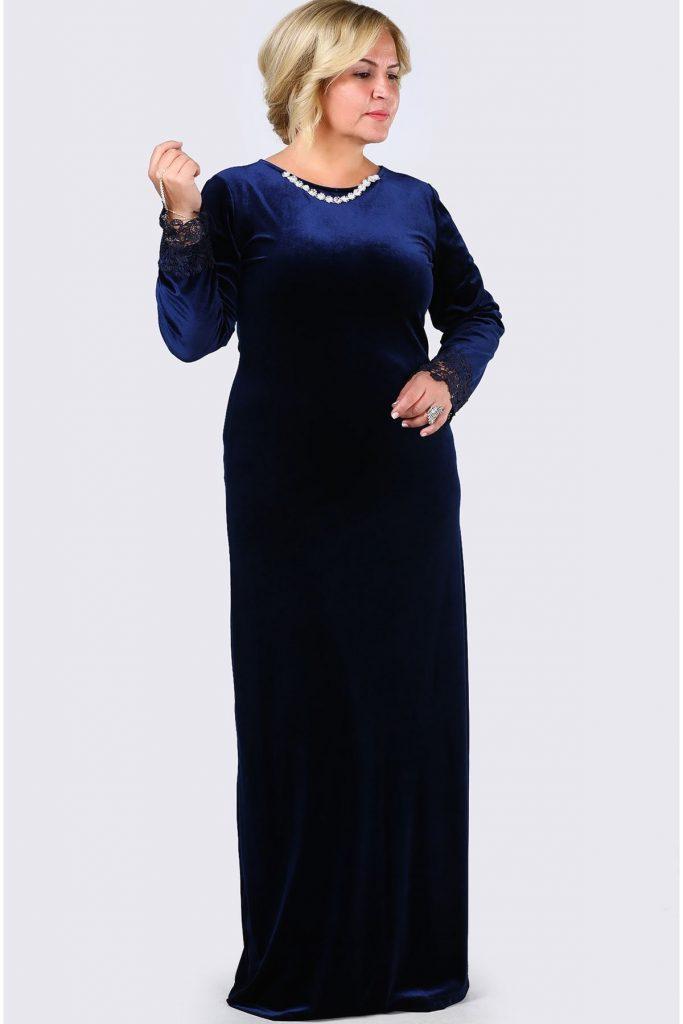 Patirti.com Buyuk Beden Abiye Elbise Modelleri 17 683x1024 - En Şık Patirti.com Tesettür Abiye Elbise Modelleri