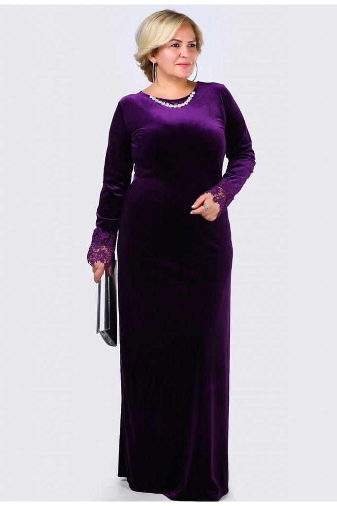 Patirti.com Buyuk Beden Abiye Elbise Modelleri 18 683x1024 - En Şık Patirti.com Tesettür Abiye Elbise Modelleri