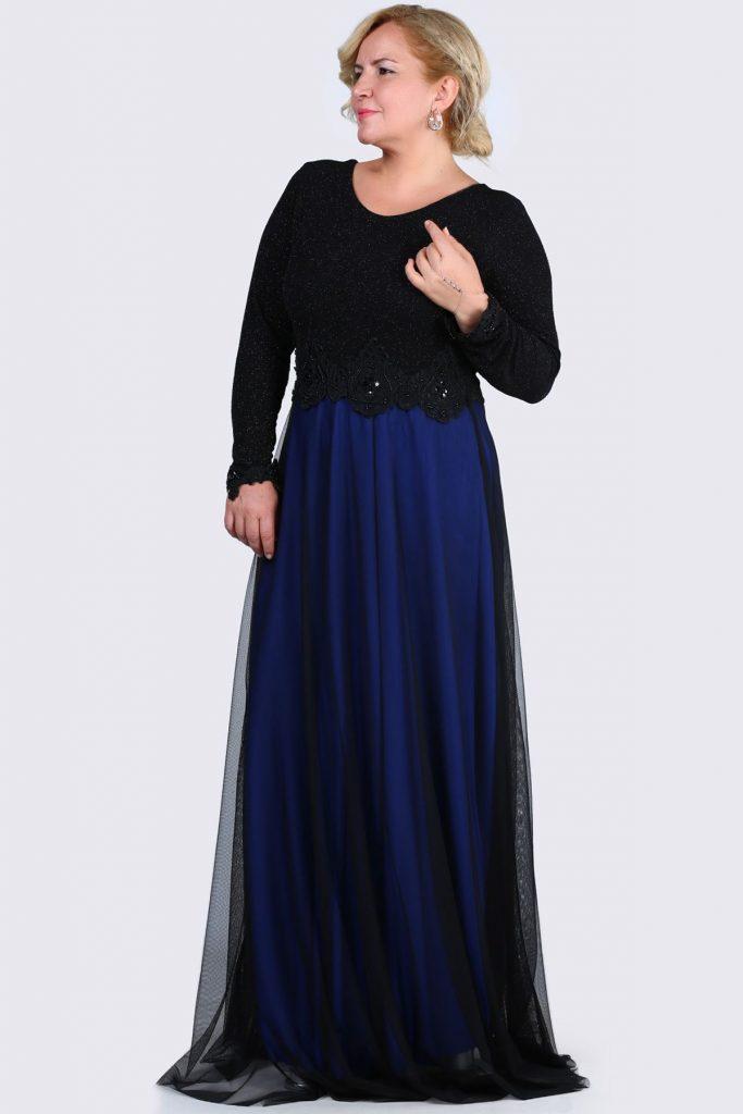 Patirti.com Buyuk Beden Abiye Elbise Modelleri 5 683x1024 - En Şık Patirti.com Tesettür Abiye Elbise Modelleri