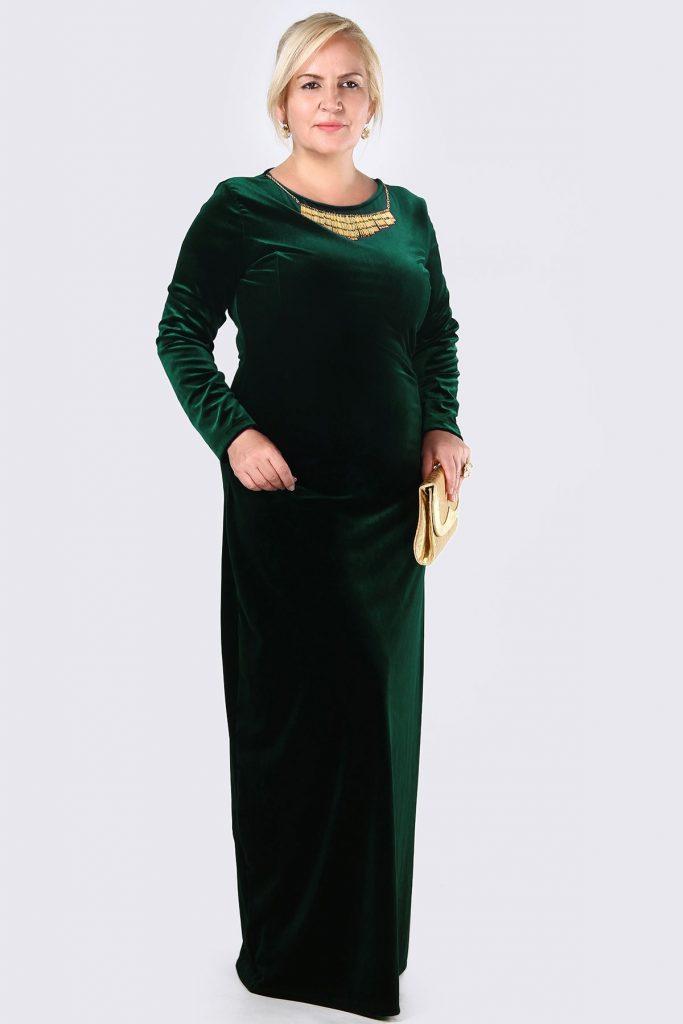 Patirti.com Buyuk Beden Abiye Elbise Modelleri 9 683x1024 - En Şık Patirti.com Tesettür Abiye Elbise Modelleri