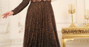 Simli Tesettür Abiye Elbise Modelleri 4 e1522703492843