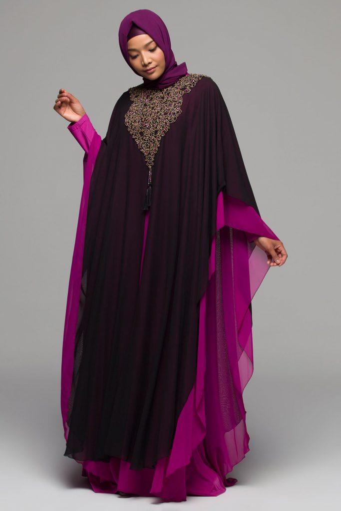 2018 Armine Tesettur Abiye Elbise Modelleri 2