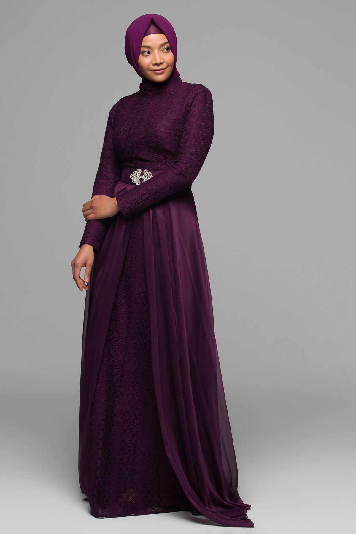 2018 Armine Tesettur Abiye Elbise Modelleri 4