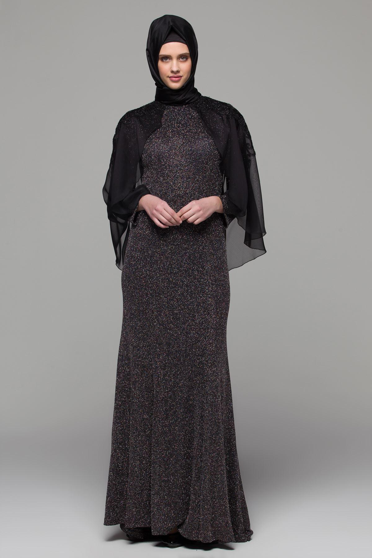 2018 Armine Tesettur Abiye Elbise Modelleri 6