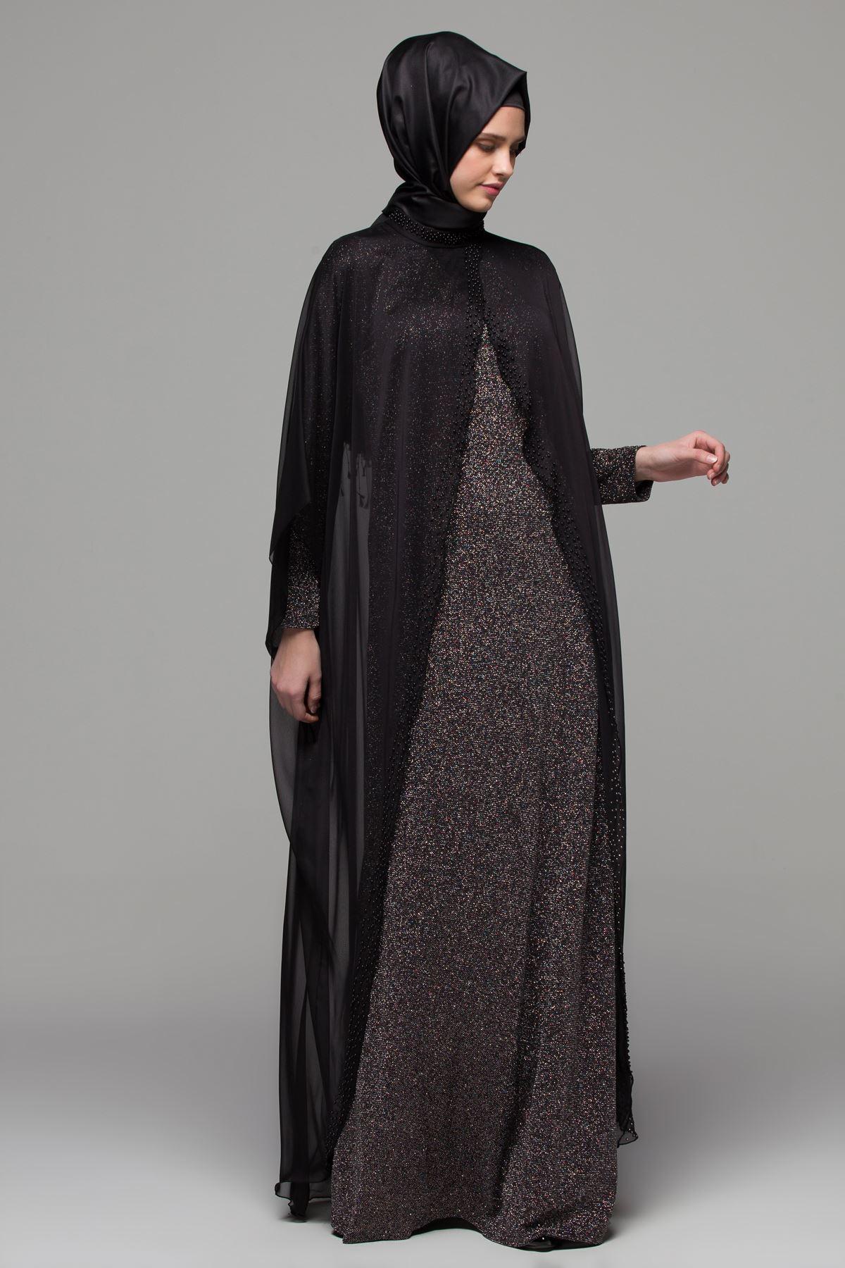 2018 Armine Tesettur Abiye Elbise Modelleri 7