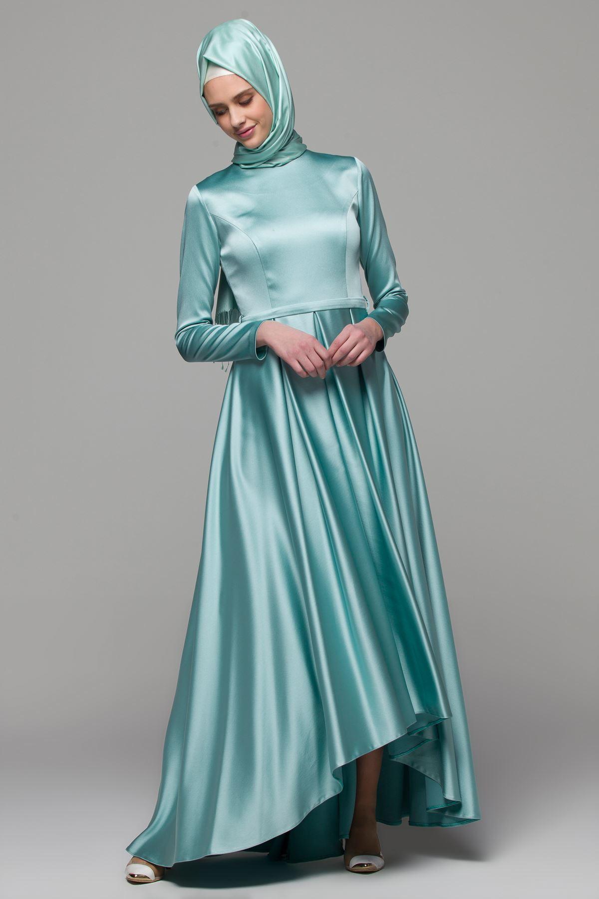 2018 Armine Tesettur Abiye Elbise Modelleri
