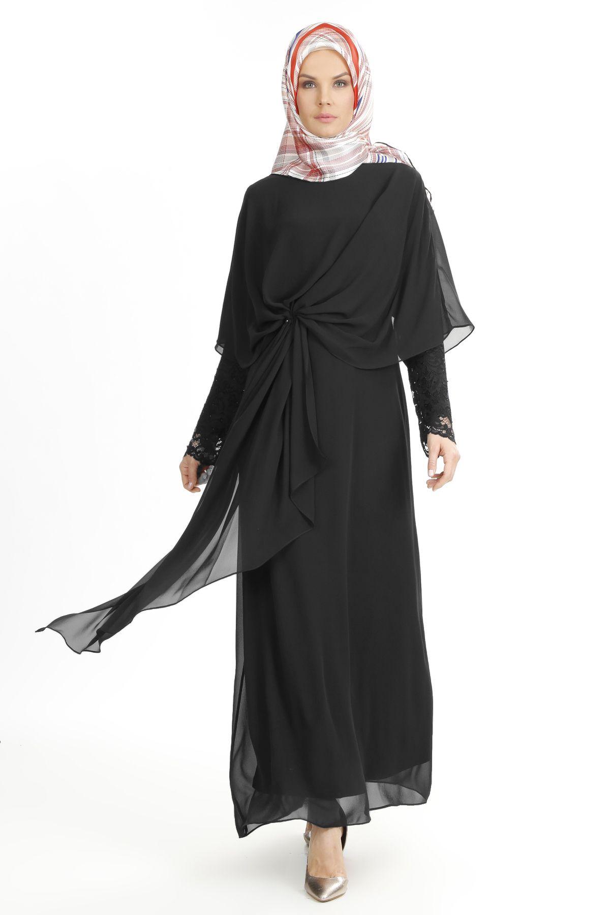 2018 SETRMS Tesettur Abiye Elbise Modelleri 1