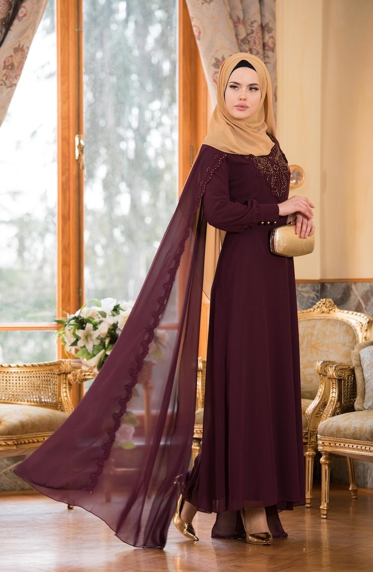 2018 Sefamerve.com Tesettur Abiye Elbise Modelleri 1