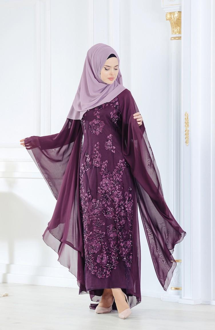 2018 Sefamerve.com Tesettur Abiye Elbise Modelleri 2