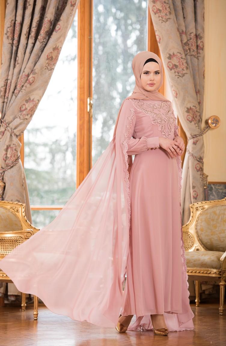 2018 Sefamerve.com Tesettur Abiye Elbise Modelleri 4