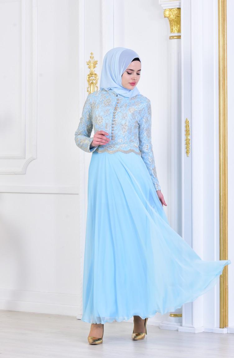 2018 Sefamerve.com Tesettur Abiye Elbise Modelleri Bebemavisi