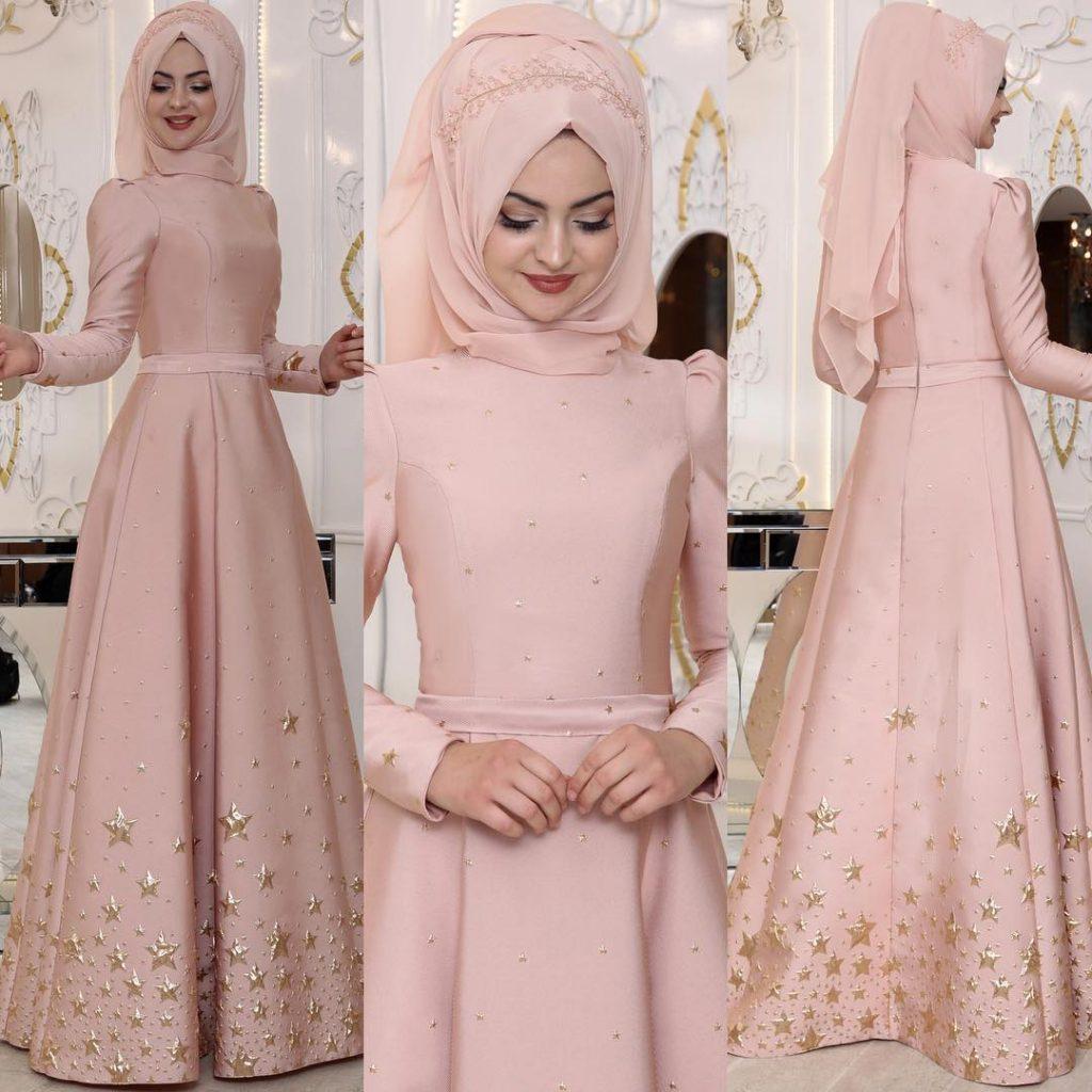 2018 Tesettur Sunnet Annesi Abiye Elbise Modelleri 2