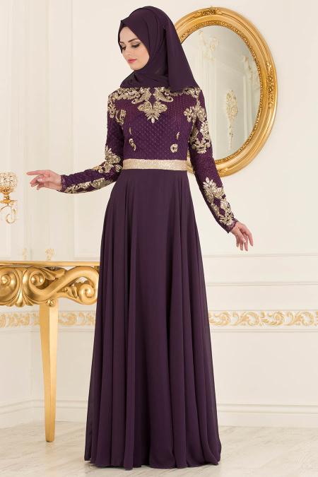 2018 Trendyol.com Tesettur Abiye Elbise Modelleri 6