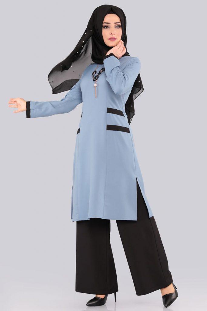 Bayrama Ozel Tesetturlu Elbise Kombinleri-biyeli-3-lu-kombin-bebe-mavisi