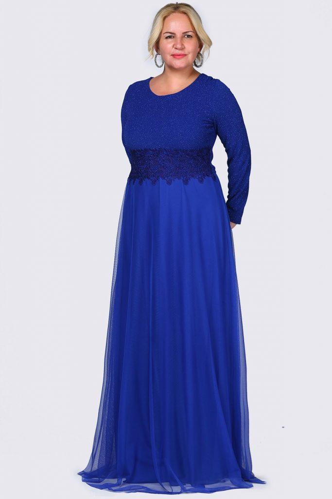 Buyuk Beden Tesettur Giyim Abiye Elbise Modelleri