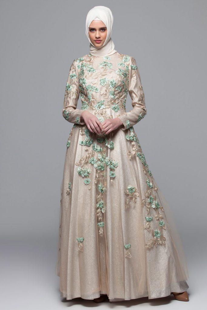 En Guzel Armine Tesettur Abiye Elbise Modelleri 2