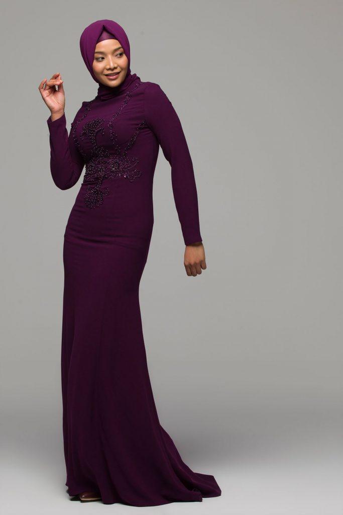 En Guzel Armine Tesettur Abiye Elbise Modelleri 3