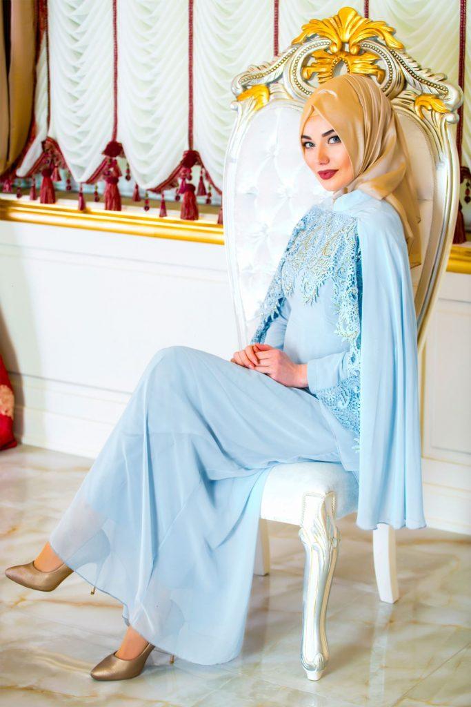 En Guzel Sedanur.com Tesettur Abiye Elbise Modelleri-dantel-detayli-pelerinli-buz