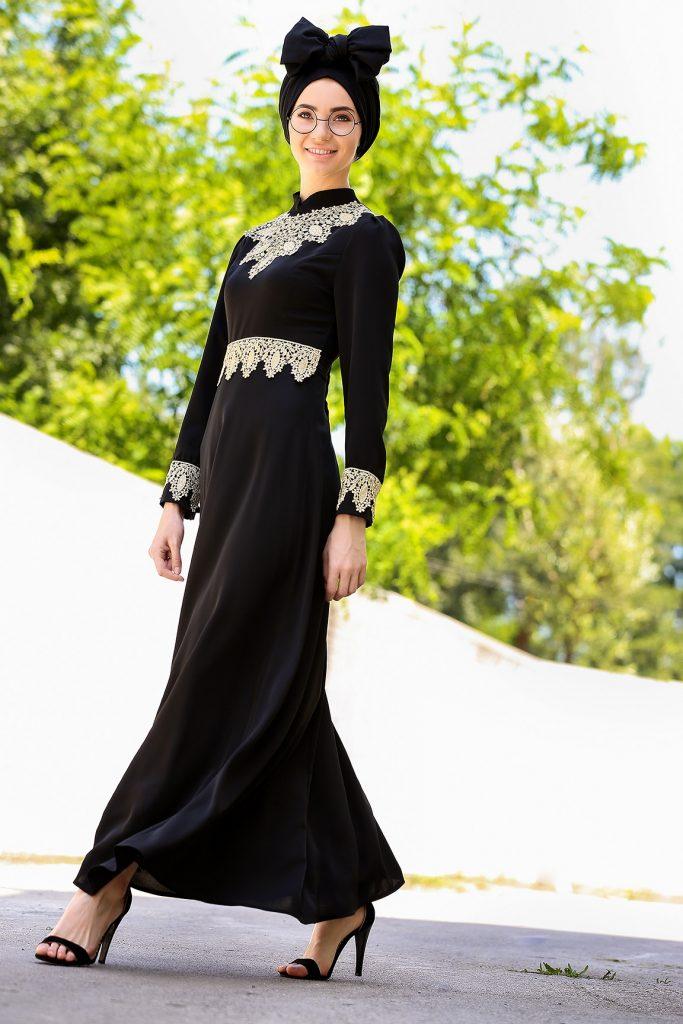 En Sik Tozlu.com Tesettur Abiye Elbise Modelleri 2