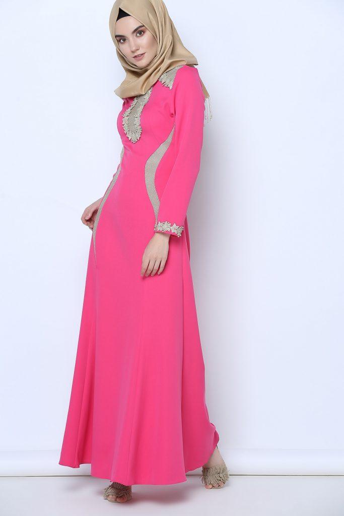 En Sik Tozlu.com Tesettur Abiye Elbise Modelleri 3
