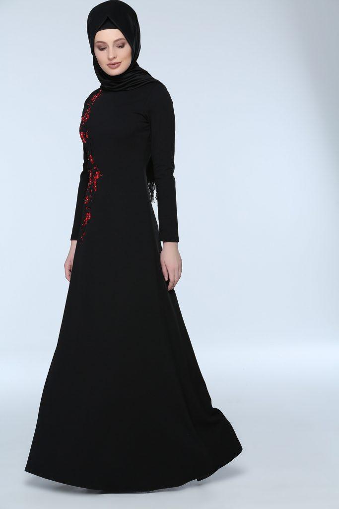 En Sik Tozlu.com Tesettur Abiye Elbise Modelleri 5