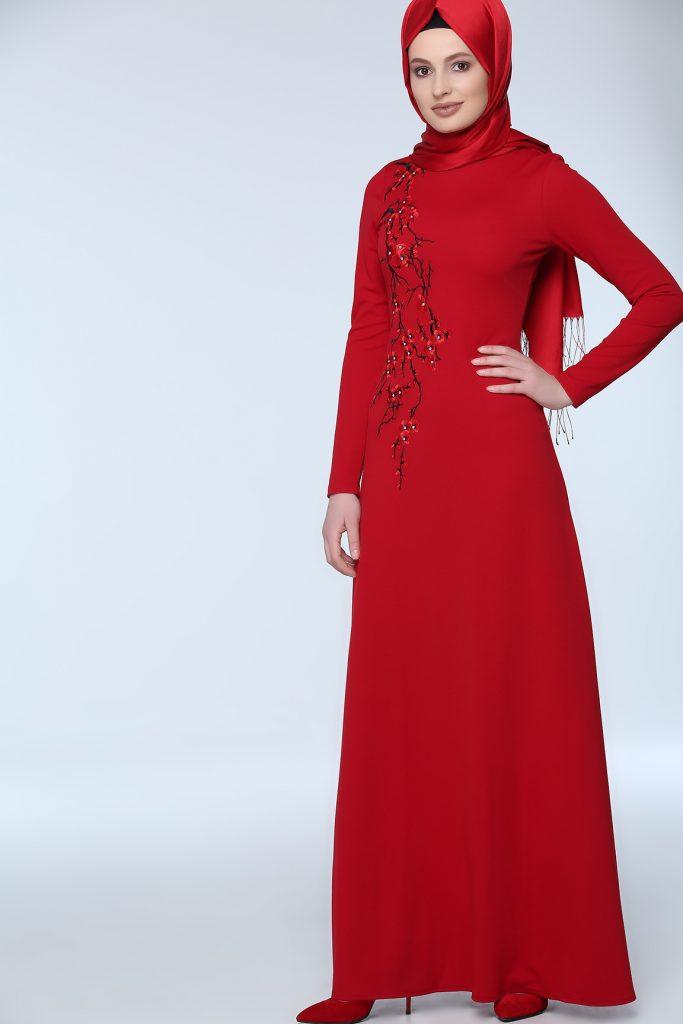 En Sik Tozlu.com Tesettur Abiye Elbise Modelleri 6