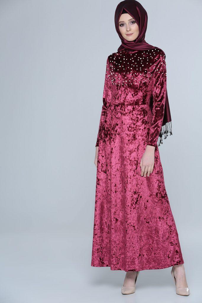 En Sik Tozlu.com Tesettur Abiye Elbise Modelleri 7